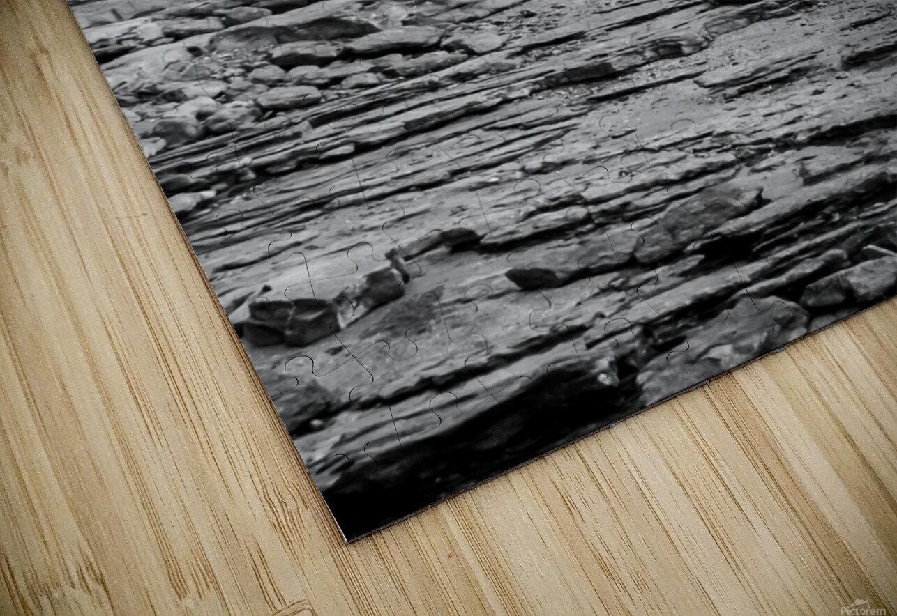 Over Rocks HD Sublimation Metal print