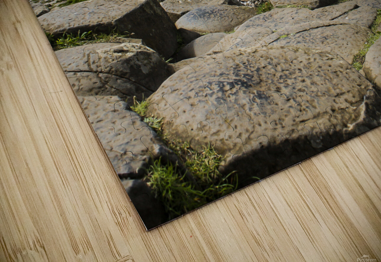 The Giants Causeway in Northern Ireland HD Sublimation Metal print