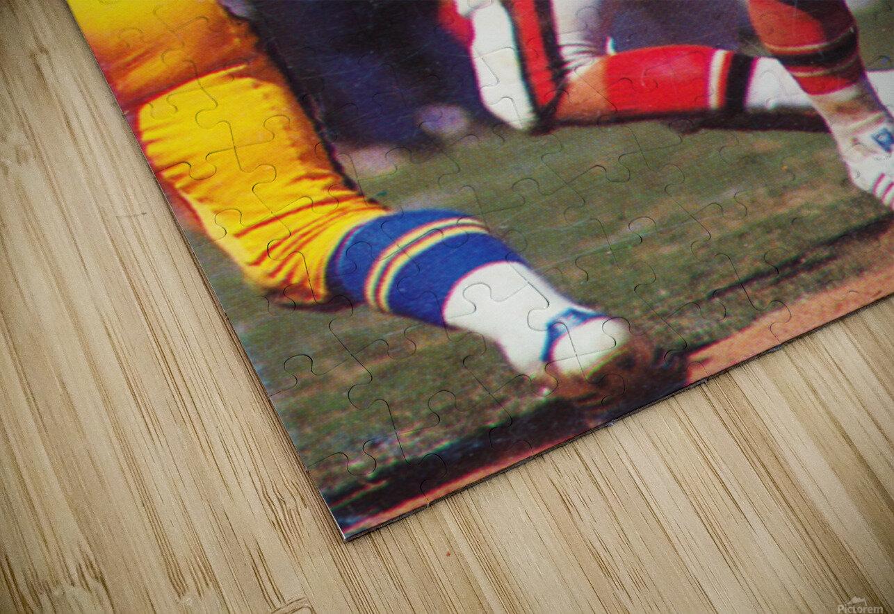 1977 Atlanta Falcons Retro Football Poster HD Sublimation Metal print