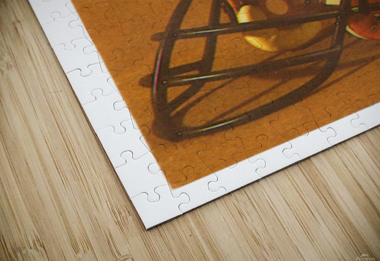 1980 Illinois Illini Football Poster HD Sublimation Metal print