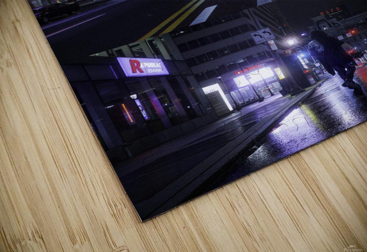 Electric City HD Sublimation Metal print