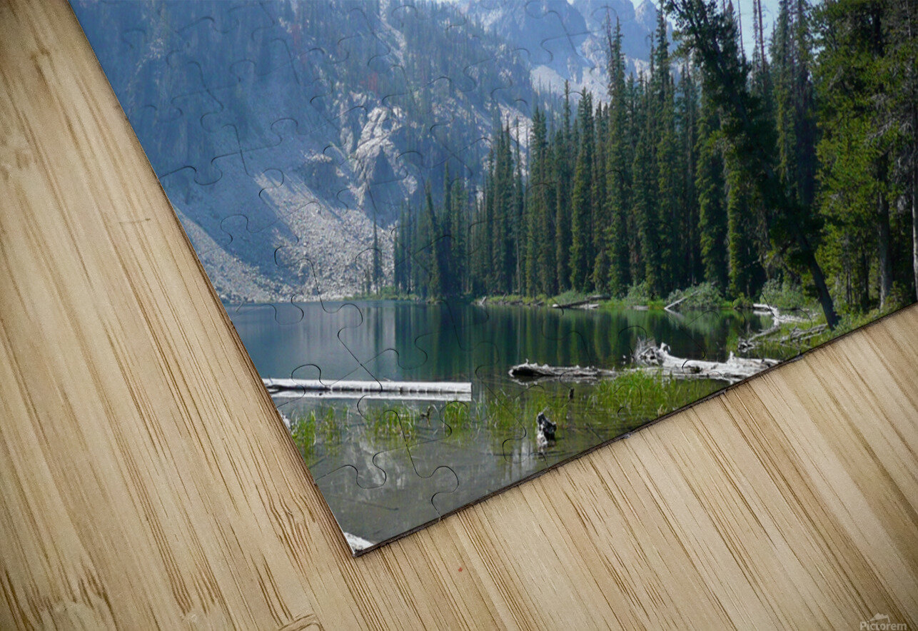 Sawtooth Lake HD Sublimation Metal print