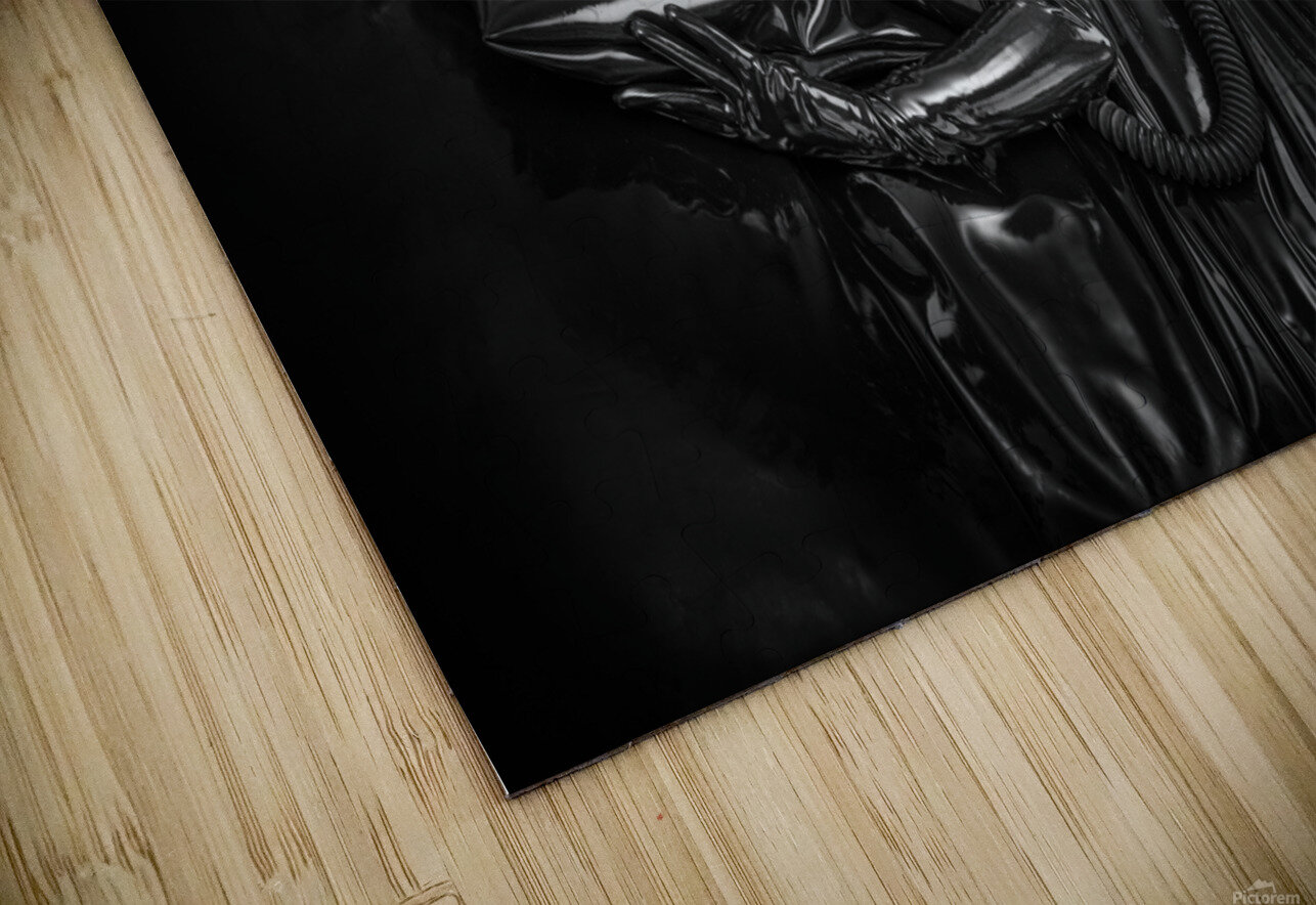 Totally Enclosed MsPervology HD Sublimation Metal print