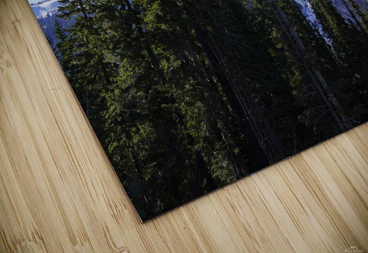Mount Rainier Pacific Northwest Washington State HD Sublimation Metal print