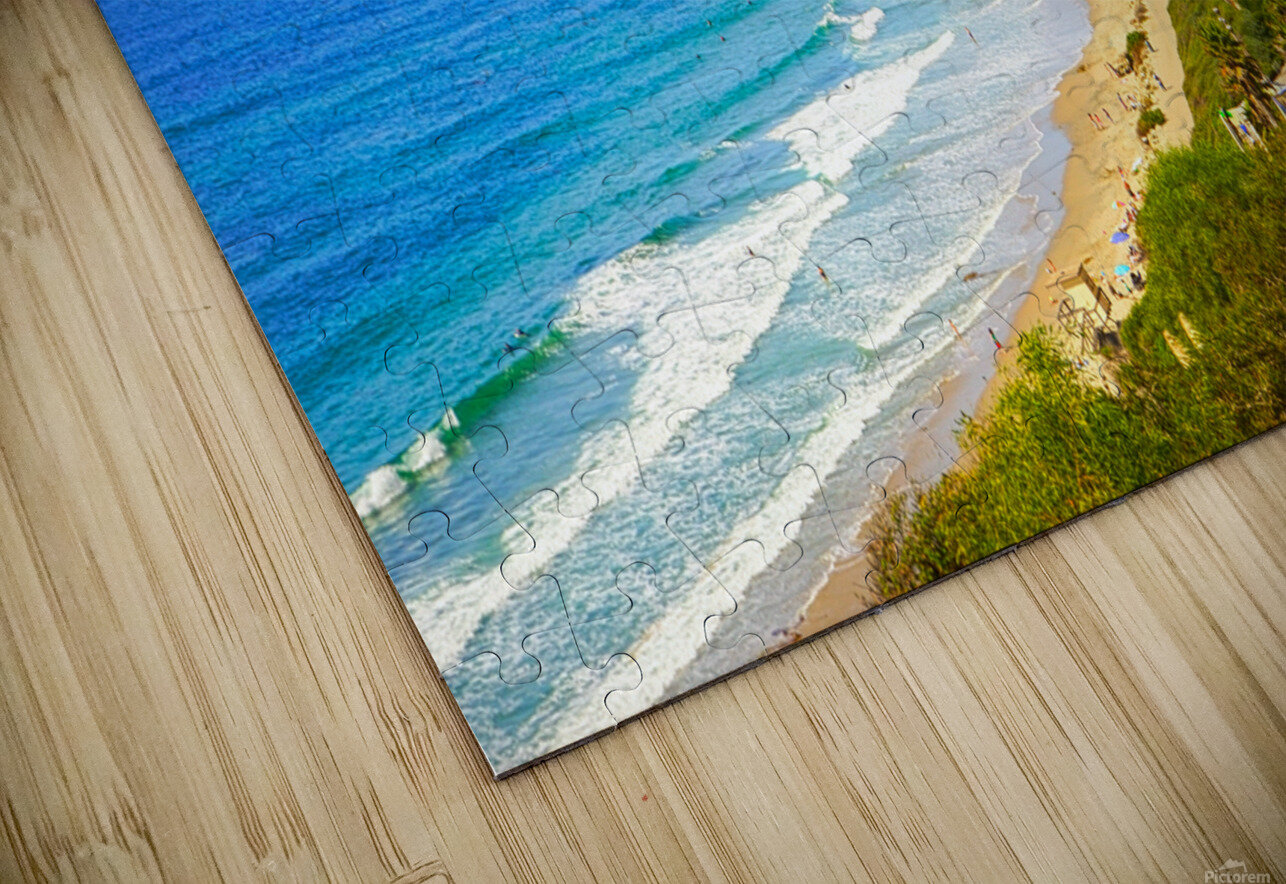 Beautiful Coastal View Newport Beach California 1 of 2 HD Sublimation Metal print