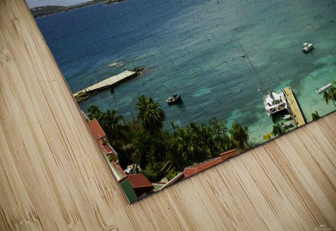 Saint Thomas in the Caribbean Islands HD Sublimation Metal print