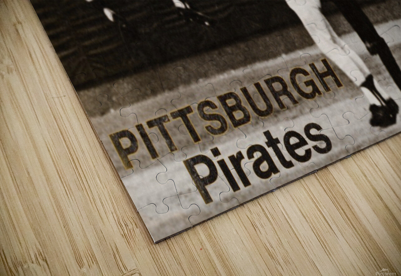 1971 Pittsburgh Pirates World Champions Art HD Sublimation Metal print