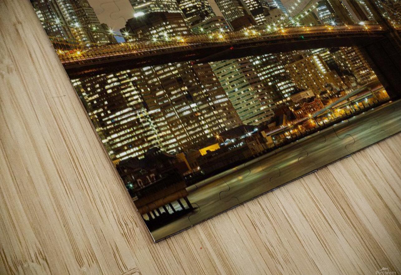 Brooklyn Bridge HD Sublimation Metal print