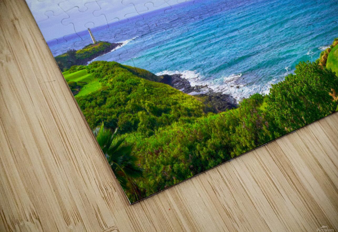 Beautiful Skies over Nawiliwili Bay in Kauai HD Sublimation Metal print