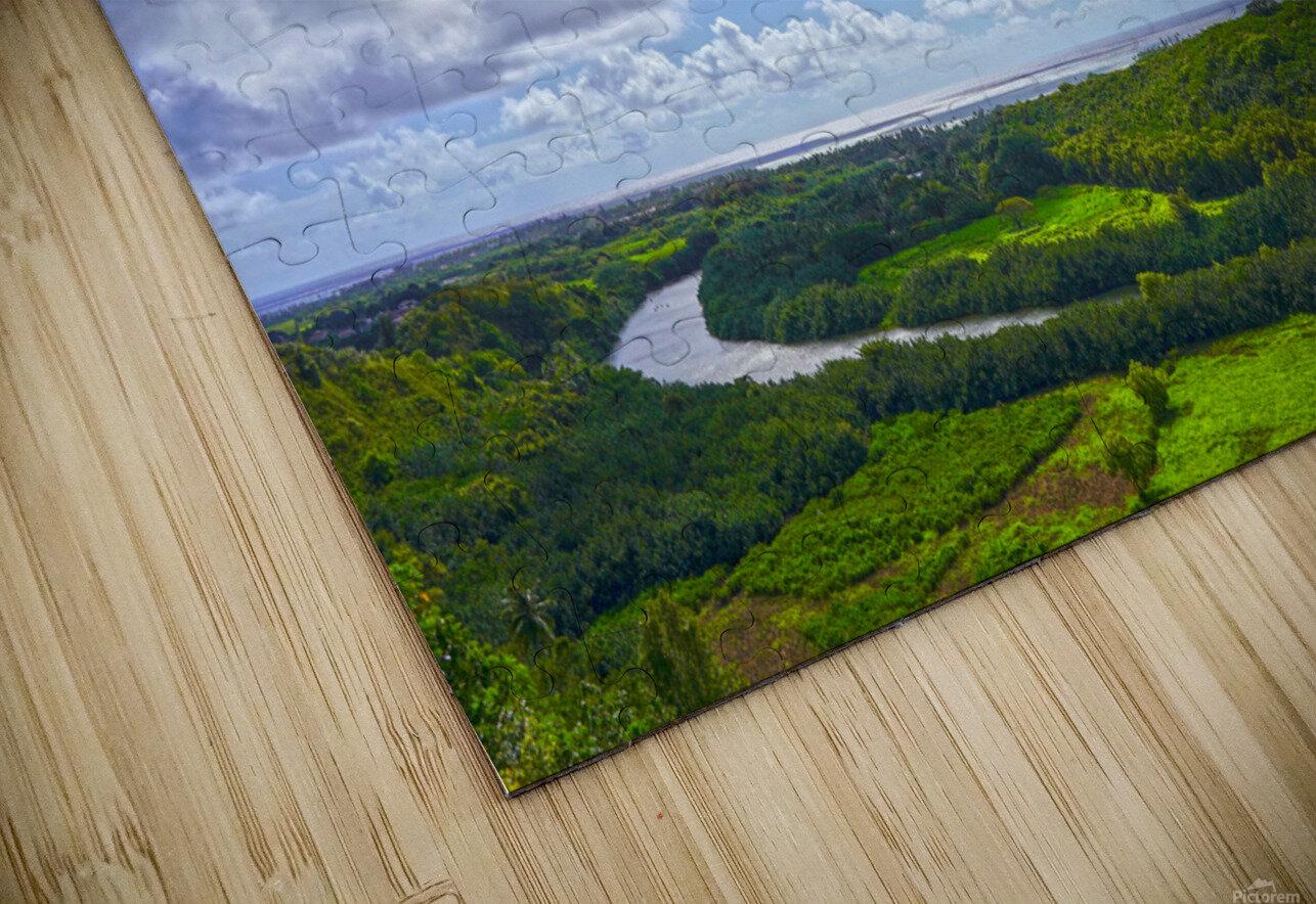On the Wailua Heritage Trail   Wailua River to Wailua Beach 1 of 2 HD Sublimation Metal print