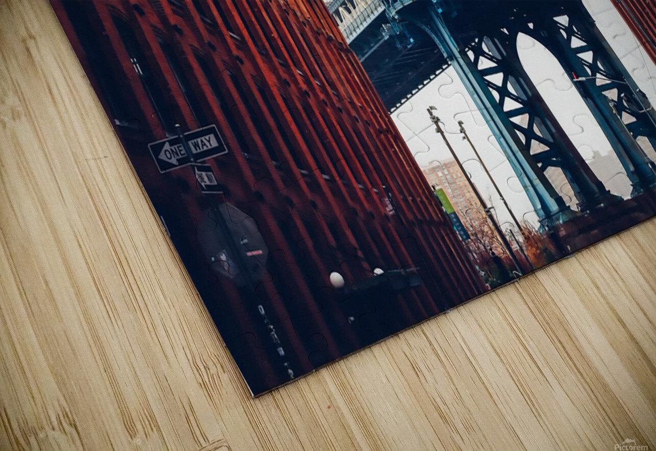 George Washington Bridge  HD Sublimation Metal print
