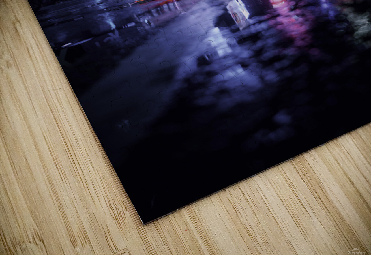 Welcome to Night City HD Sublimation Metal print