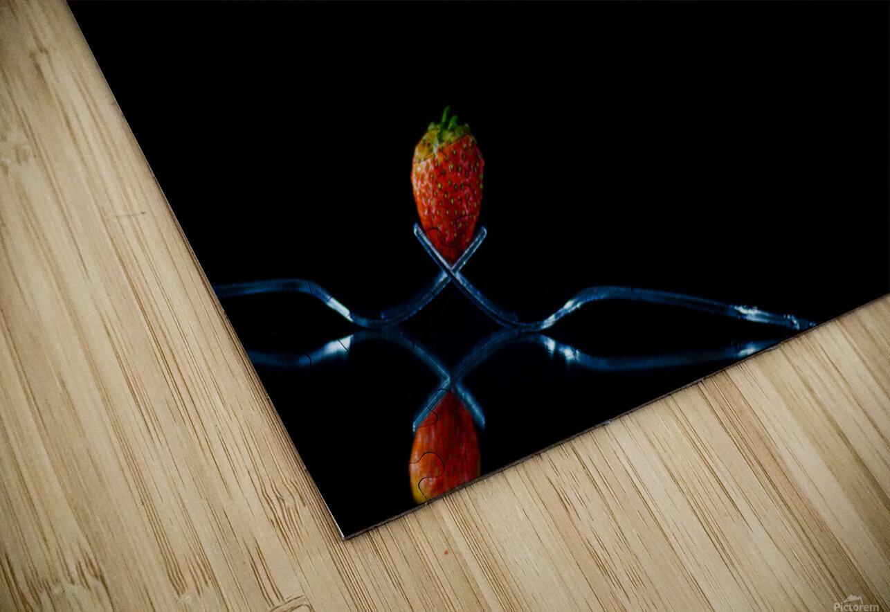 Strawberry Still Life HD Sublimation Metal print