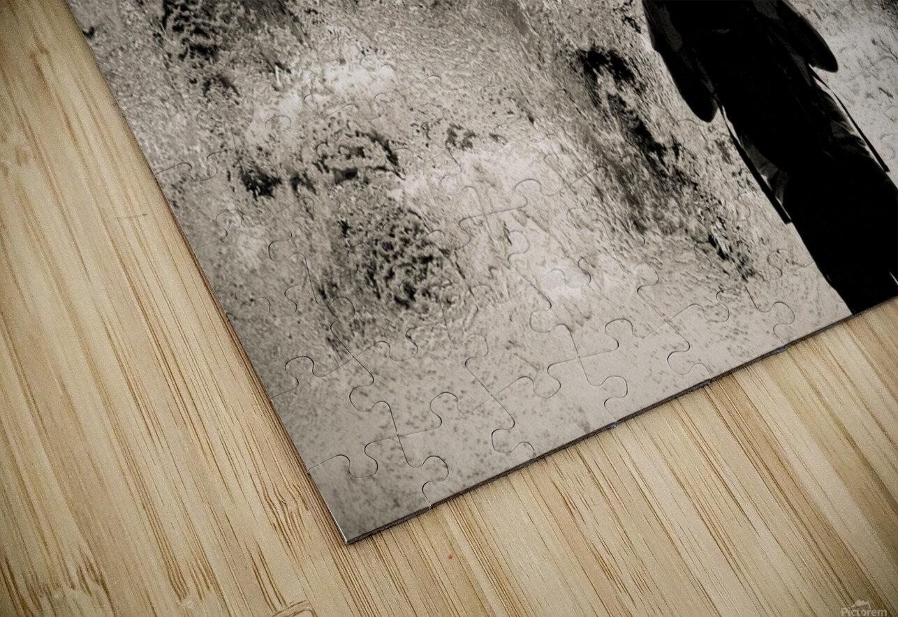 Urban Loneliness - Rain HD Sublimation Metal print