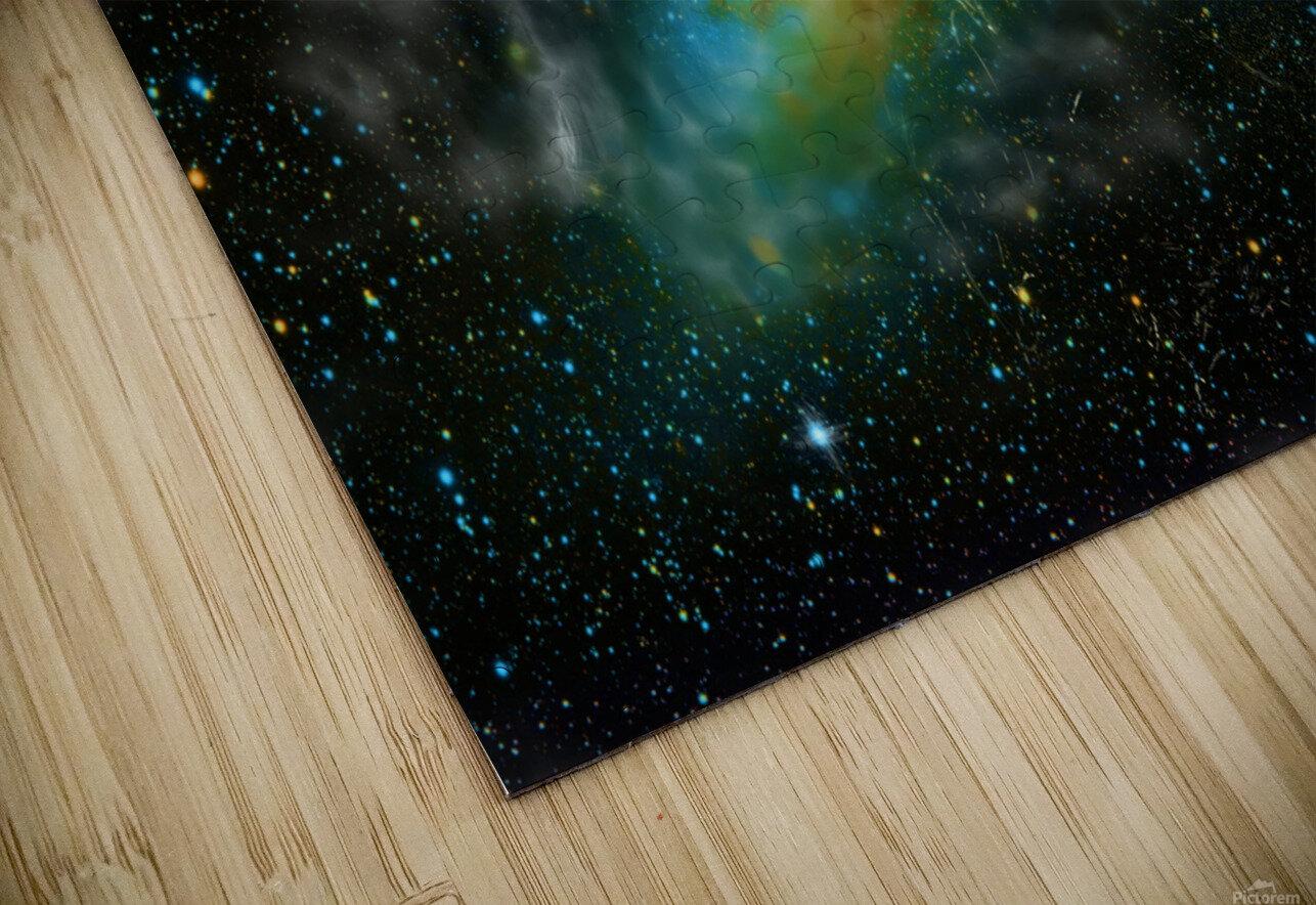 A Trillion Stars   HD Sublimation Metal print