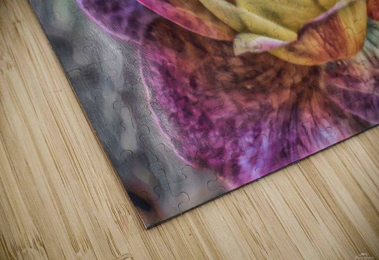 Beezy Blossom HD Sublimation Metal print