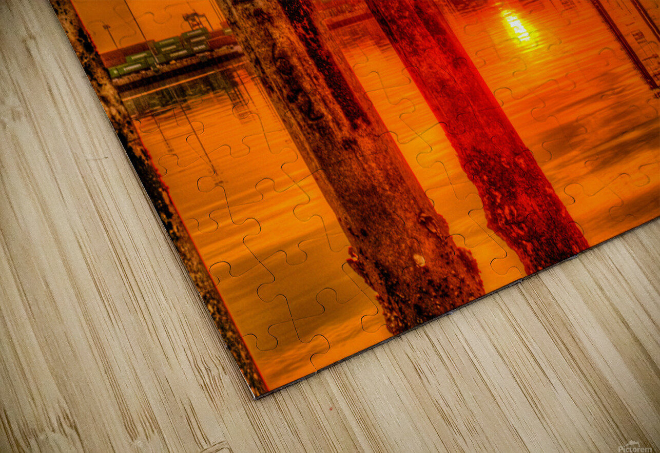 Liquid Gold HD Sublimation Metal print