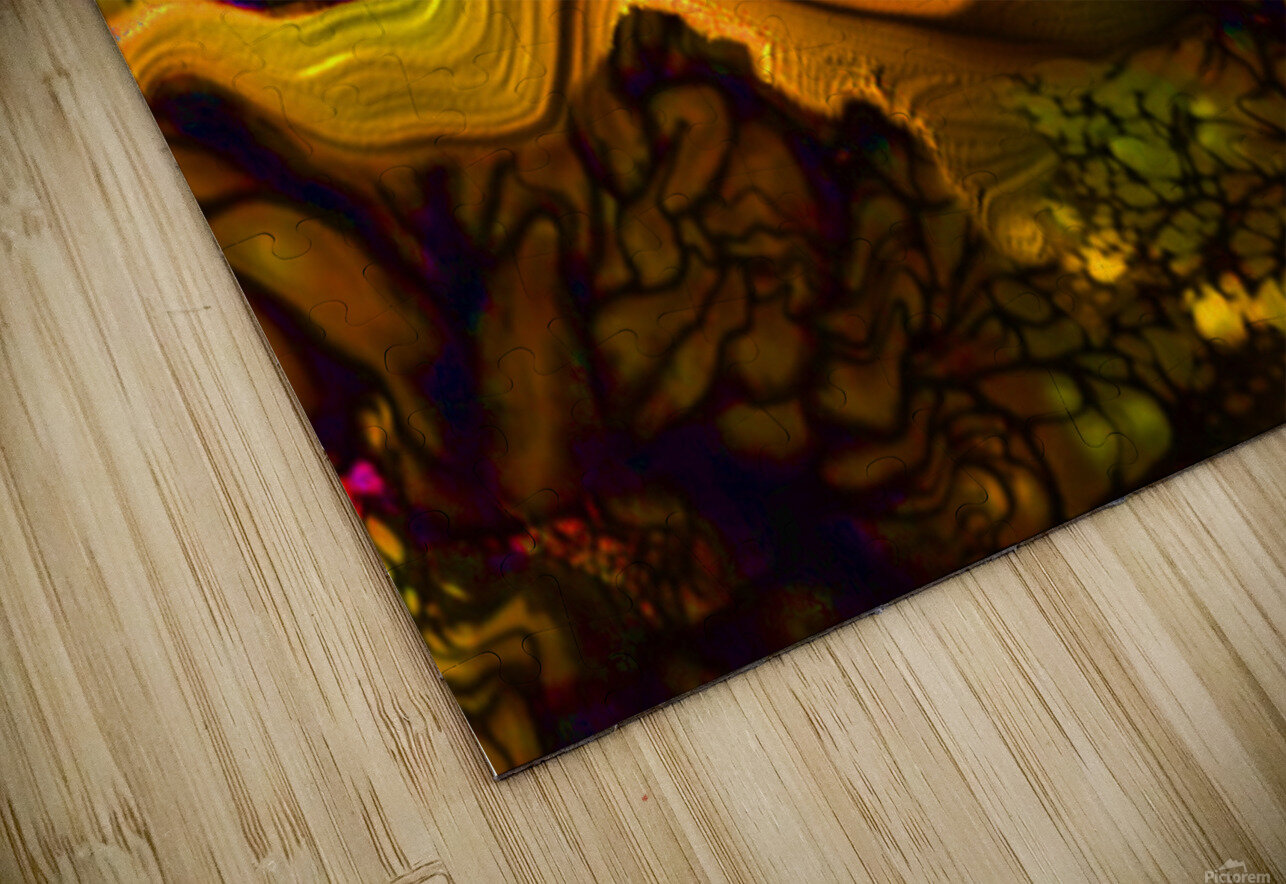Pollens Summer Glow 2 HD Sublimation Metal print