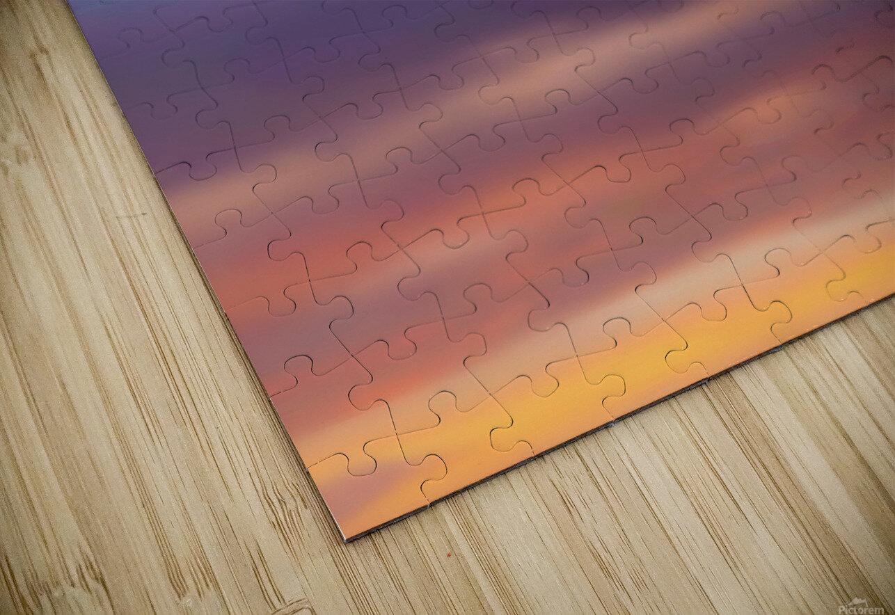 Sunset Sky HD Sublimation Metal print