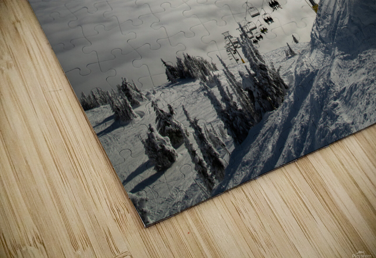 Rising Action HD Sublimation Metal print