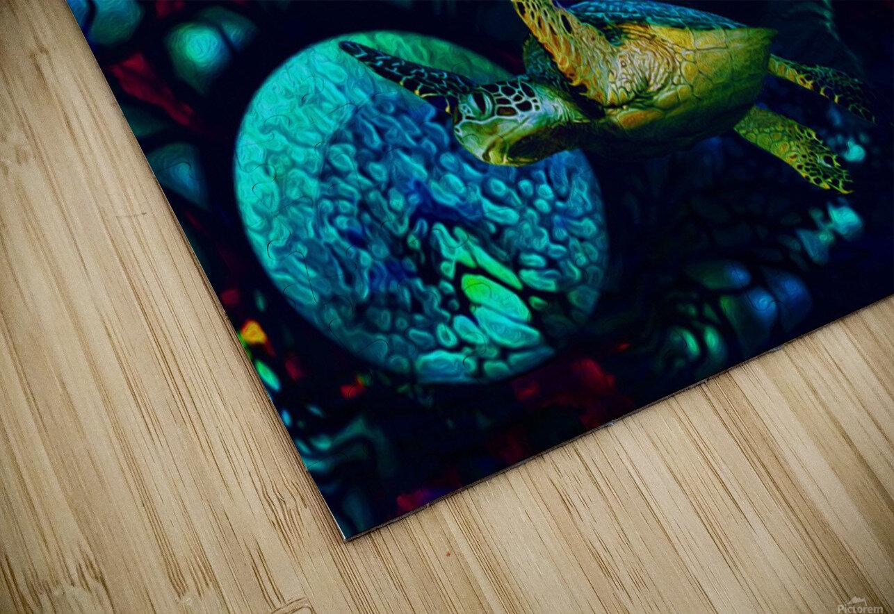 Turtles en Saison 8 HD Sublimation Metal print