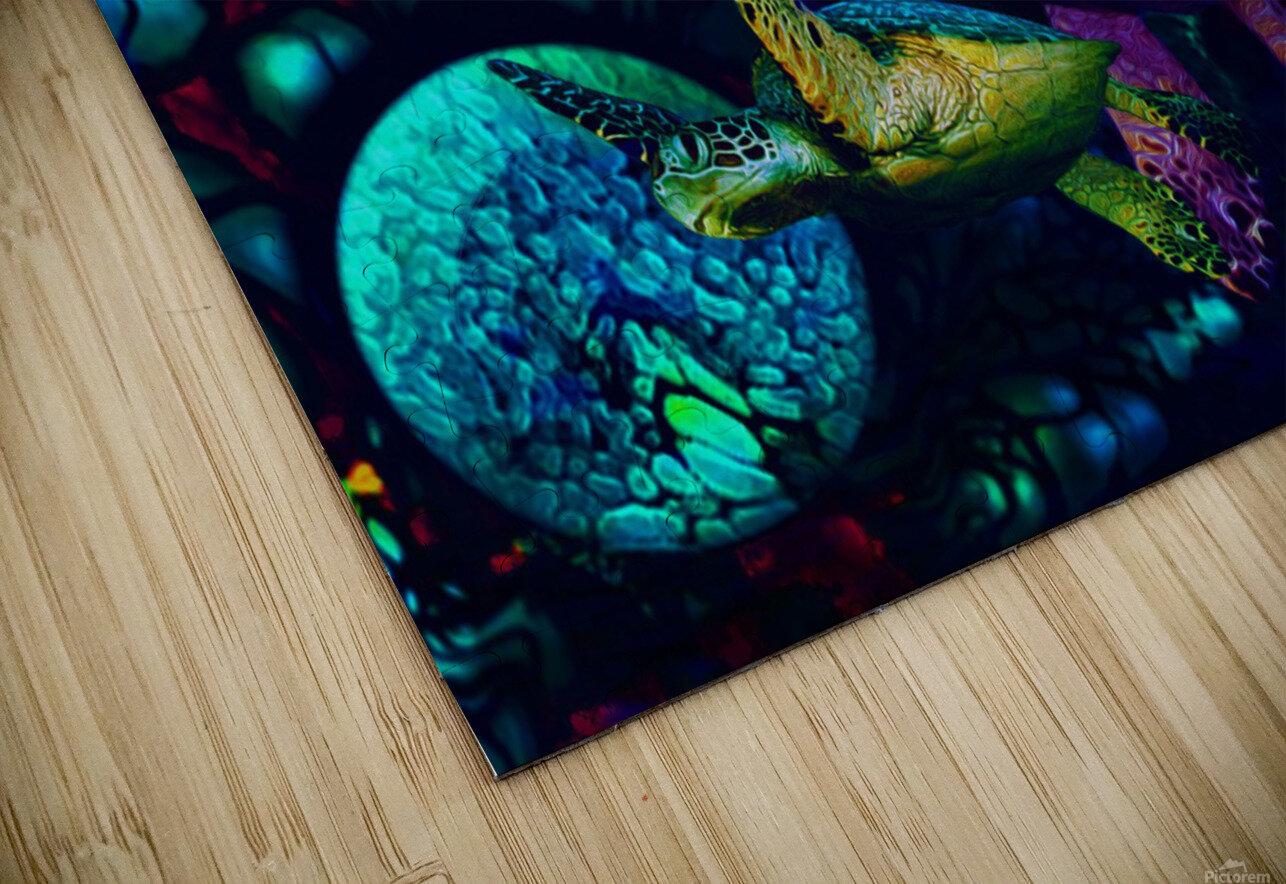 Turtles en Saison 6 HD Sublimation Metal print