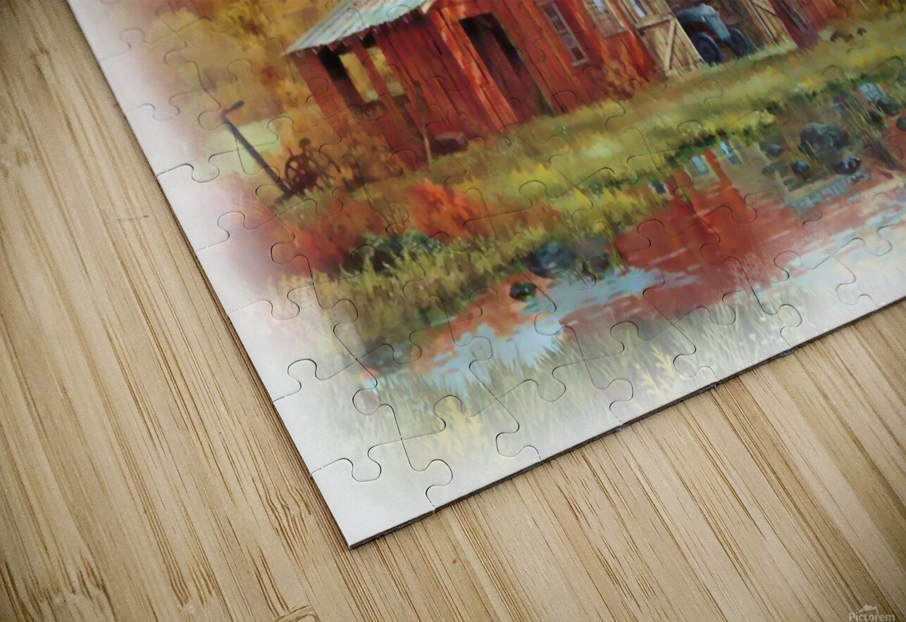 Country Living HD Sublimation Metal print