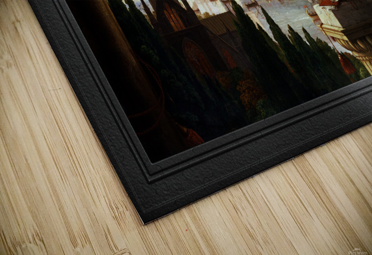 Architects Dream by Thomas Cole Classical Fine Art Xzendor7 Old Masters Reproductions HD Sublimation Metal print
