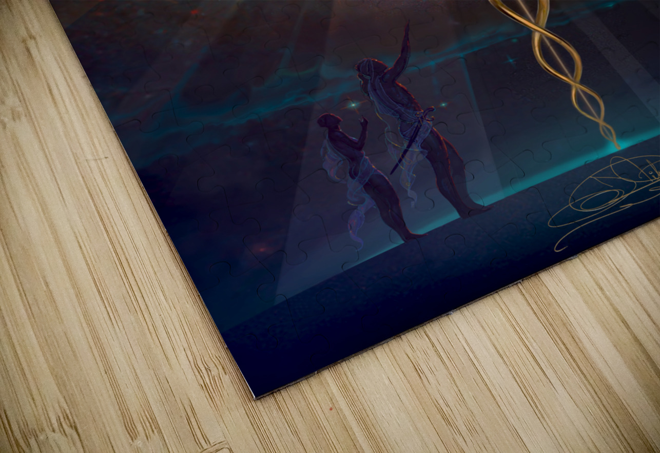 Heroes of the Healing Arts HD Sublimation Metal print