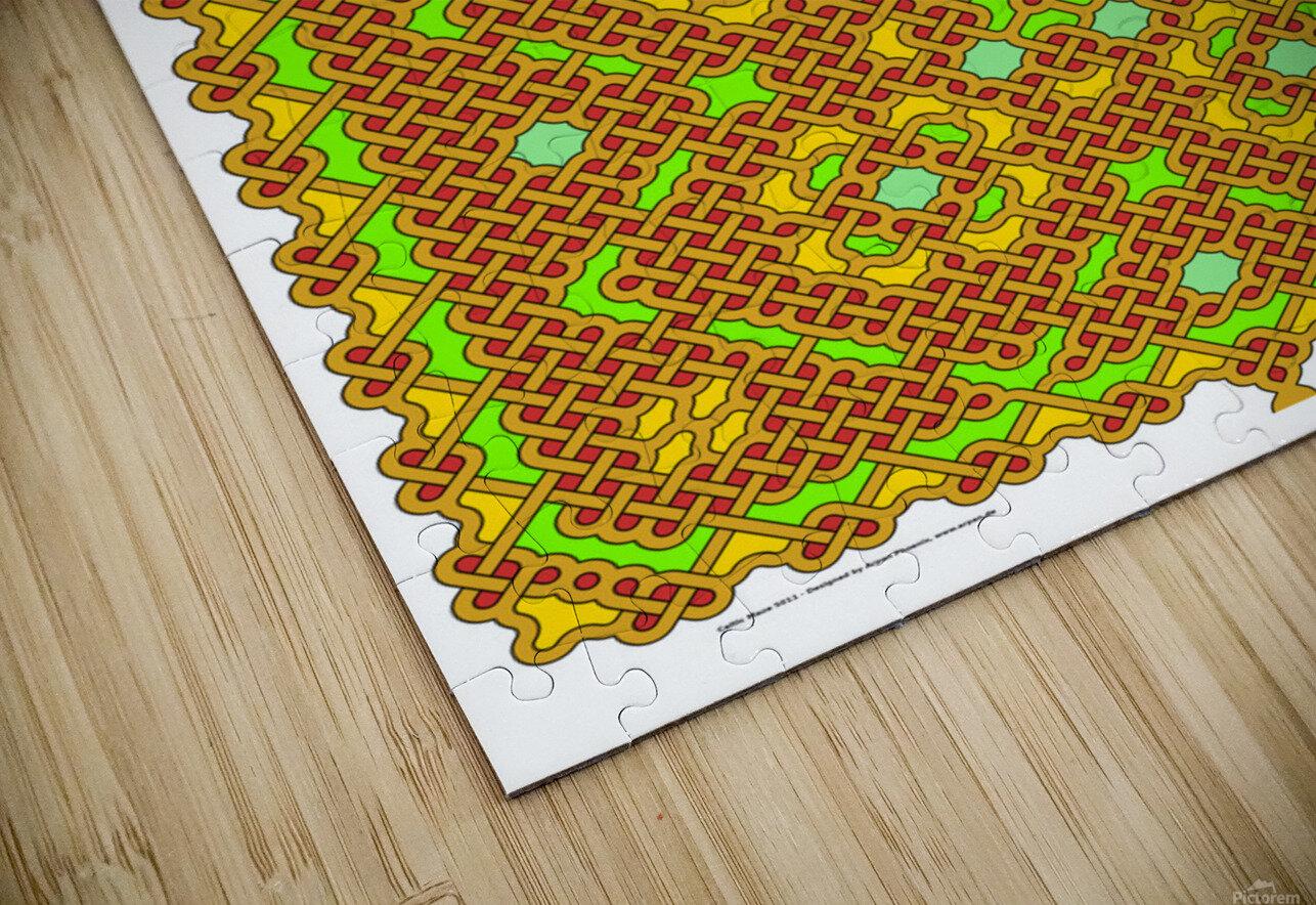 Celtic Maze 5011 HD Sublimation Metal print