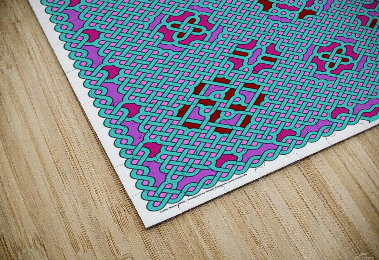 Celtic Maze 5010 HD Sublimation Metal print