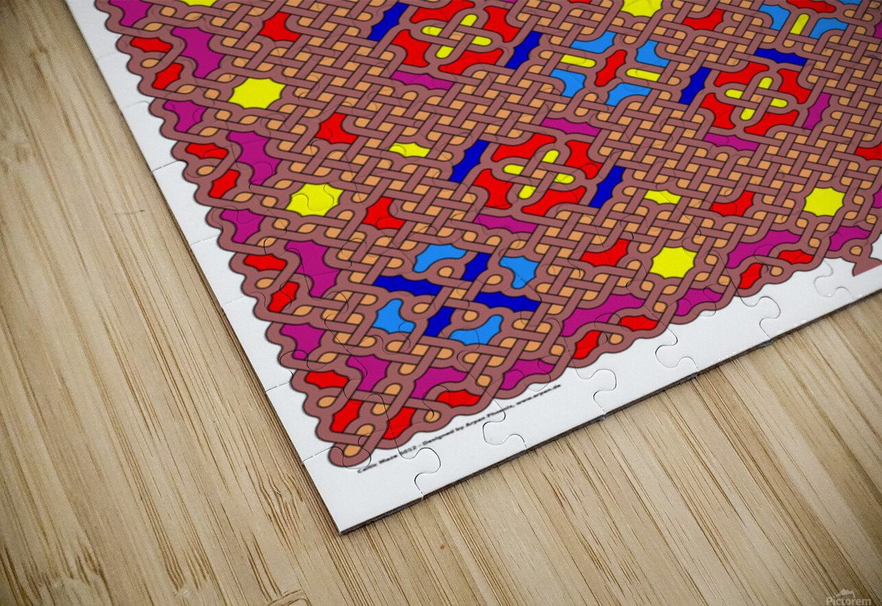 Celtic Maze 5012 HD Sublimation Metal print