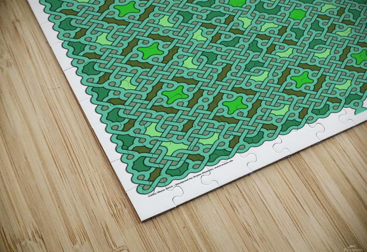 Celtic Maze 5015 HD Sublimation Metal print