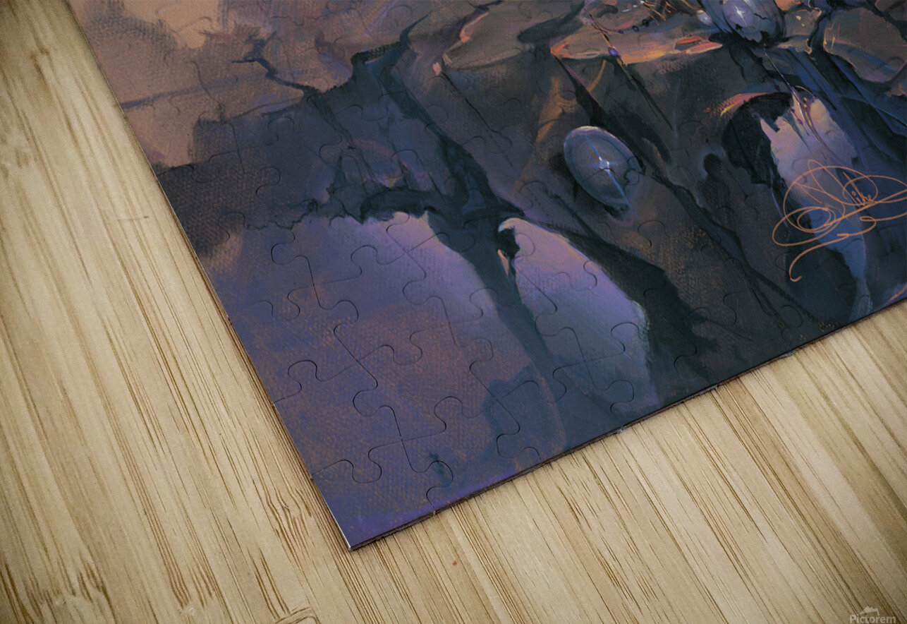 In the Company of Giants HD Sublimation Metal print
