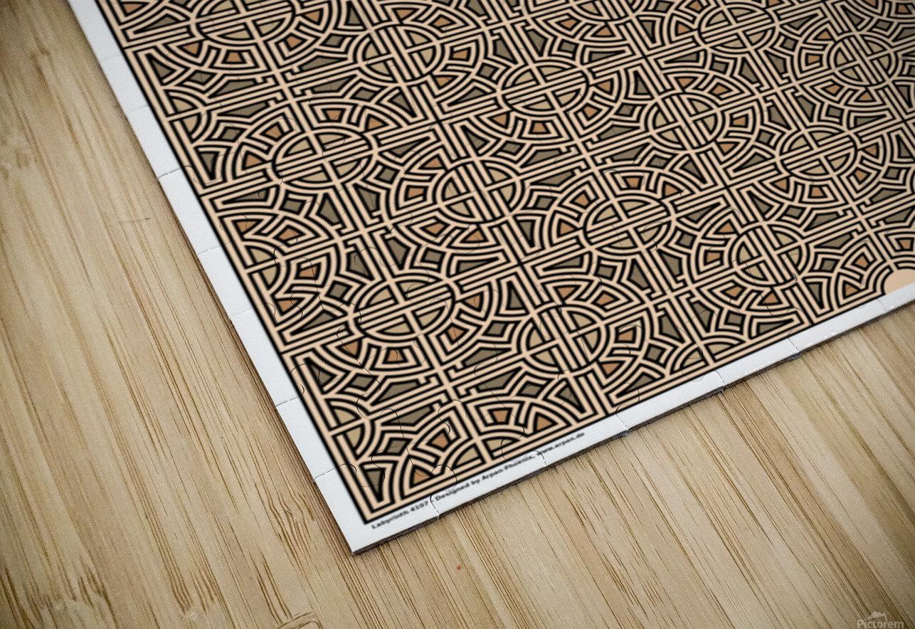 Labyrinth 4107 HD Sublimation Metal print