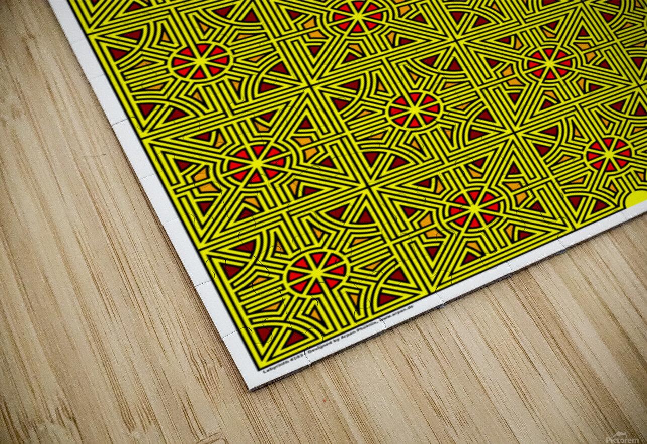Labyrinth 4103 HD Sublimation Metal print