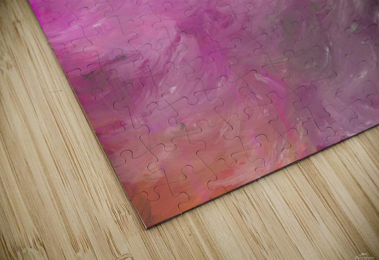 Pink Surf HD Sublimation Metal print