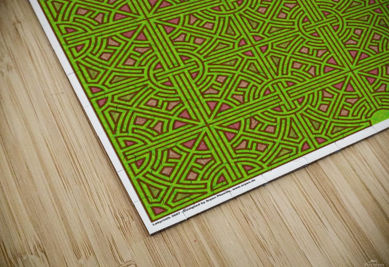Labyrinth 3607 HD Sublimation Metal print