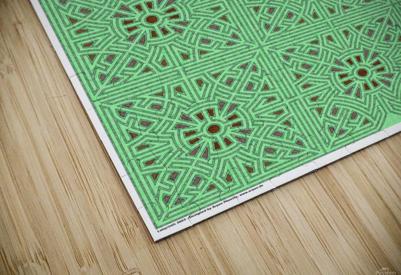 Labyrinth 3603 HD Sublimation Metal print