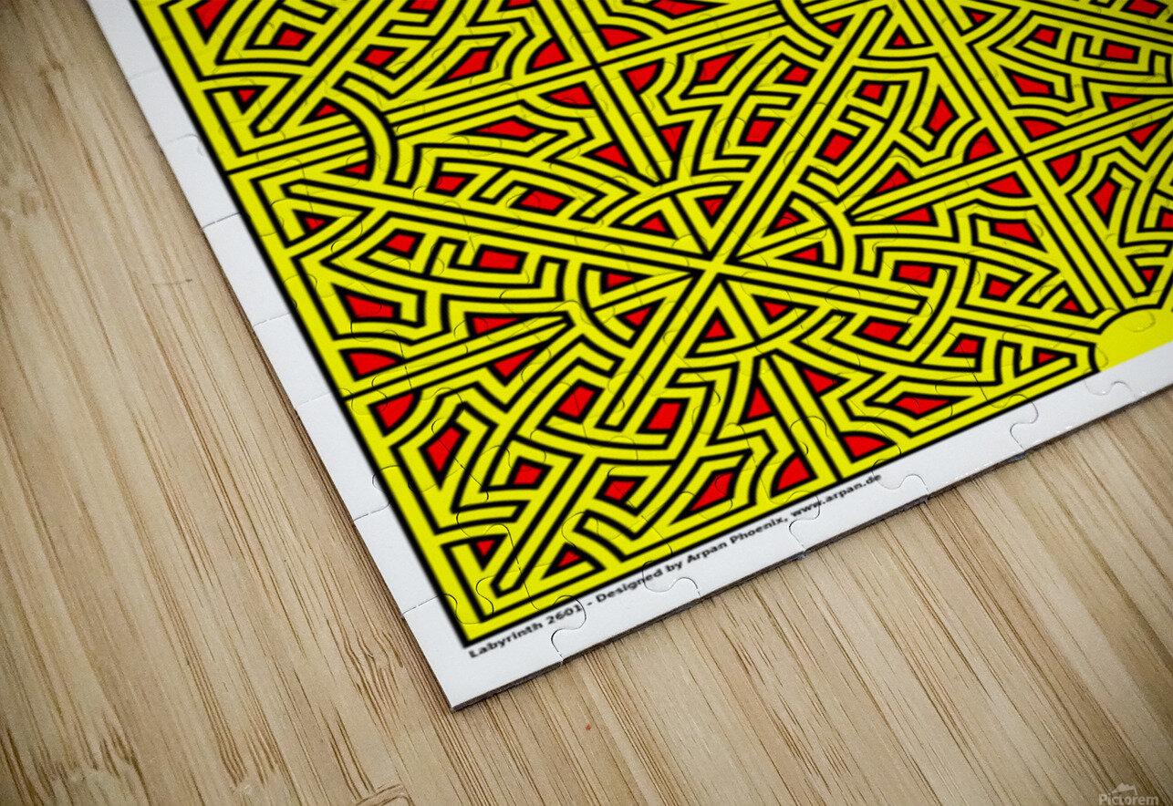 Labyrinth 2601 HD Sublimation Metal print