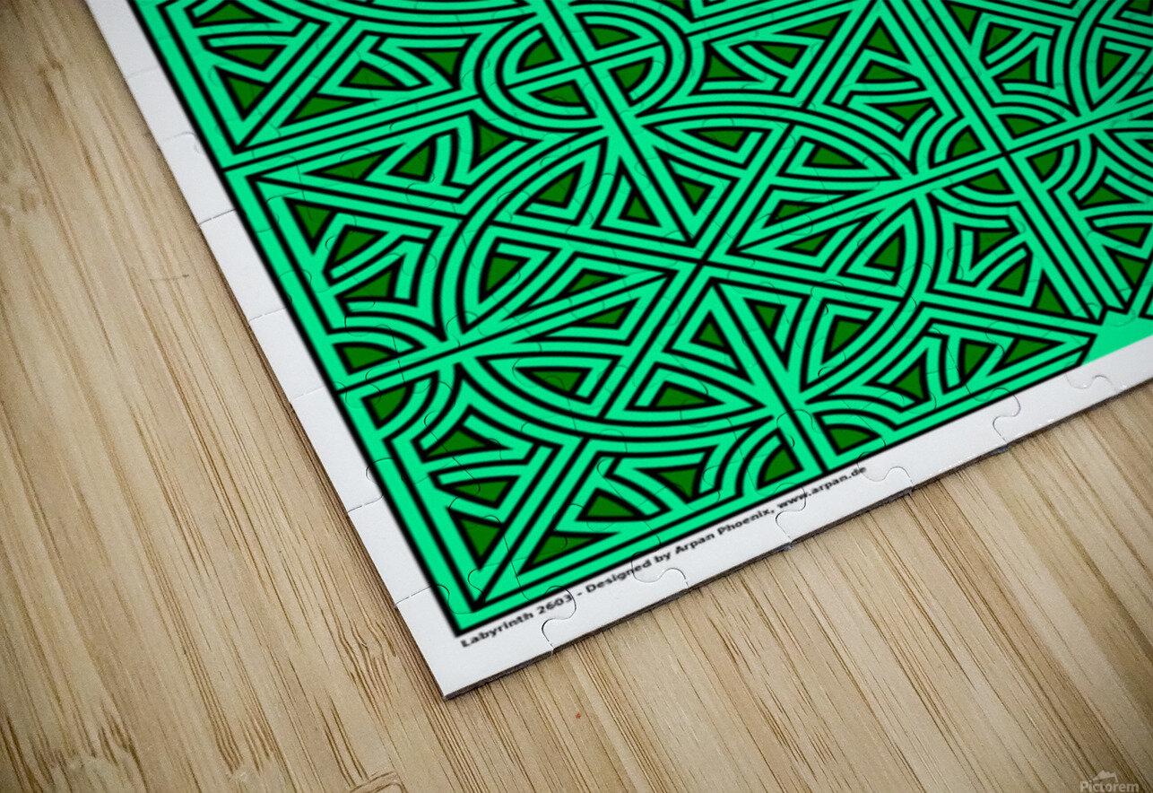 Labyrinth 2603 HD Sublimation Metal print