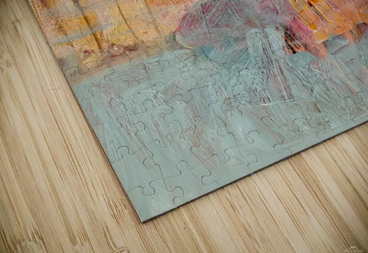 Circus Abstract No1 HD Sublimation Metal print