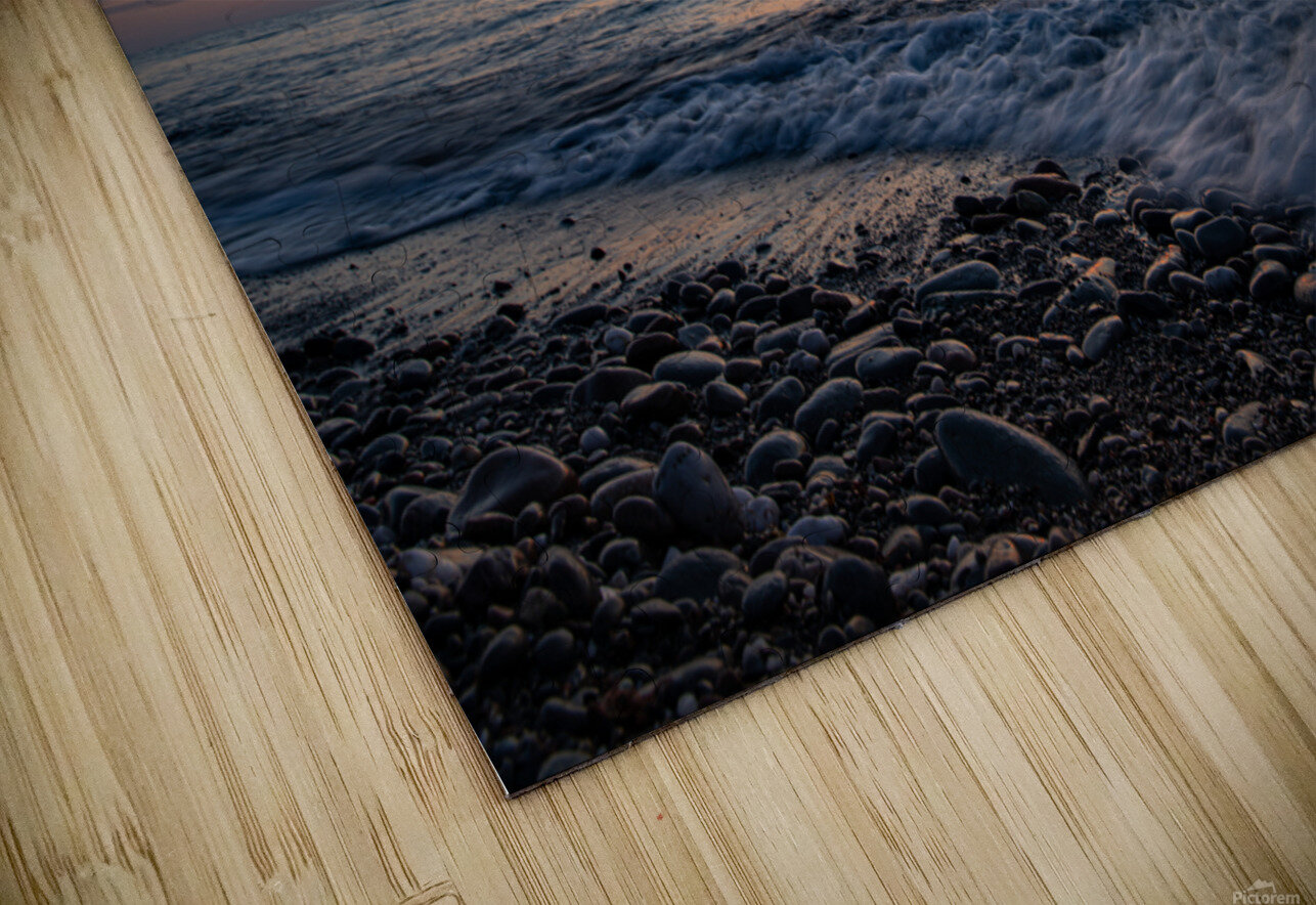 Washed by a Sunset HD Sublimation Metal print