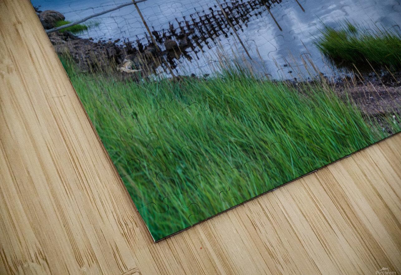 Cheticamp Harbour HD Sublimation Metal print