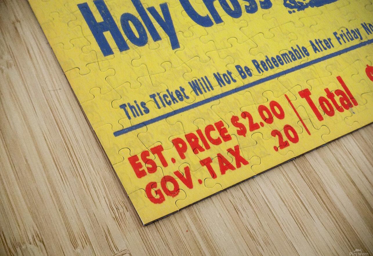 1943 Colgate vs. Holy Cross HD Sublimation Metal print