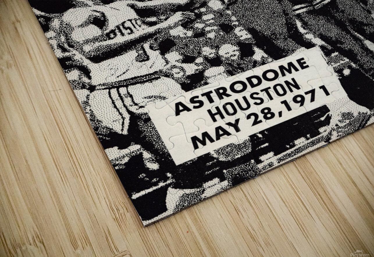 1971 NBA vs. ABA All-Star Game Program Art HD Sublimation Metal print