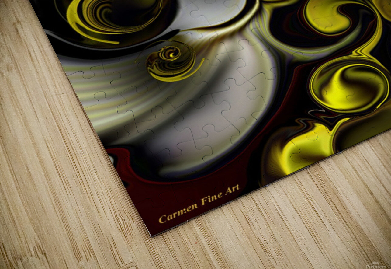Architectonic Morphism HD Sublimation Metal print