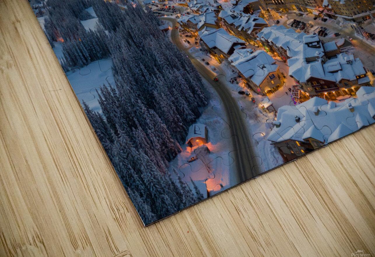 Hint of Fog HD Sublimation Metal print
