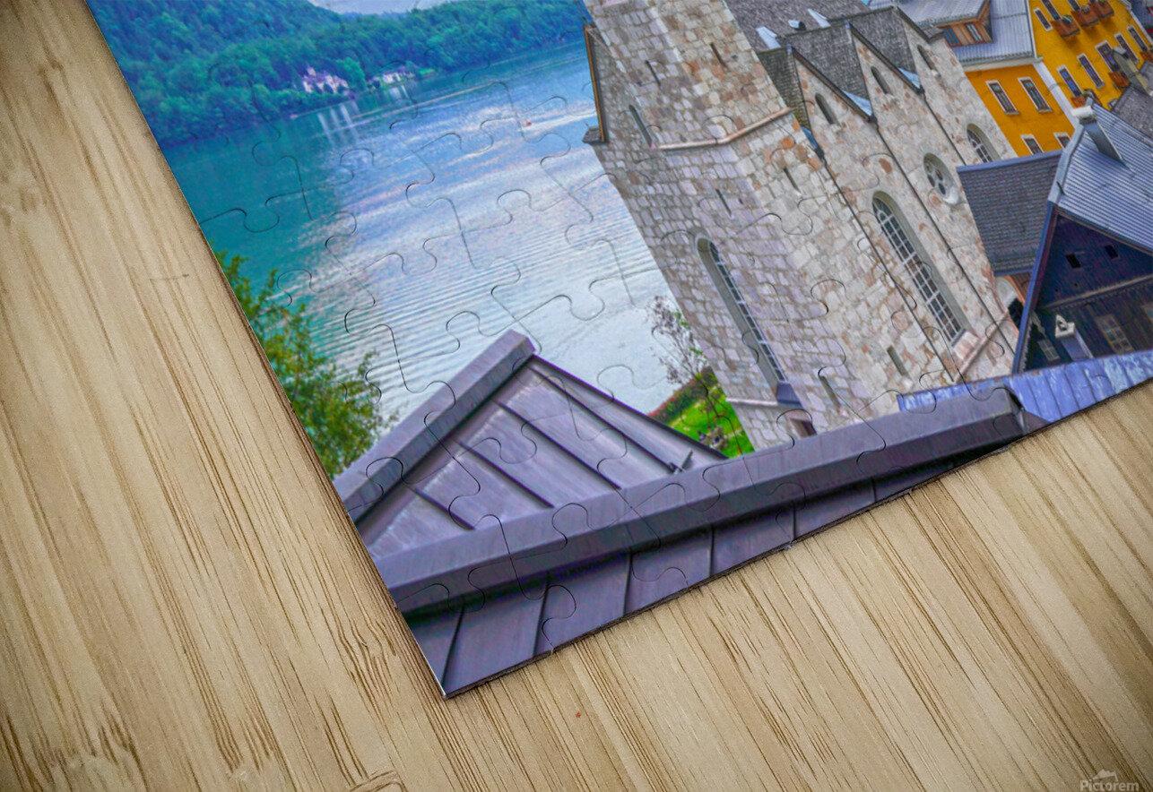 One Fine Day in Hallstatt Austria HD Sublimation Metal print