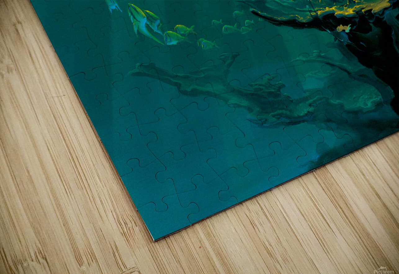 Atlantic Reef HD Sublimation Metal print